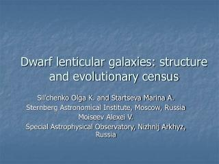 Dwarf lenticular galaxies: structure and evolutionary census