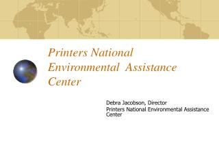 Printers National Environmental  Assistance Center