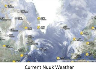 Current  Nuuk  Weather