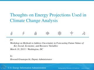 Thoughts on Energy Projections Used in Climate Change Analysis