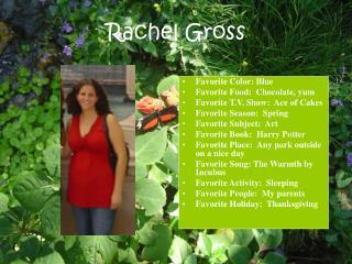 Rachel Gross