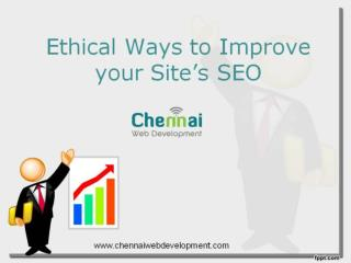 Ethical Ways to Improve Website SEO