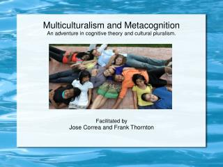 Multiculturalism and Metacognition An adventure in cognitive theory and cultural pluralism.
