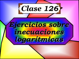 Clase  126