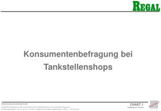 Konsumentenbefragung bei Tankstellenshops