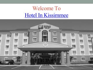 Hotel In Kissimmee