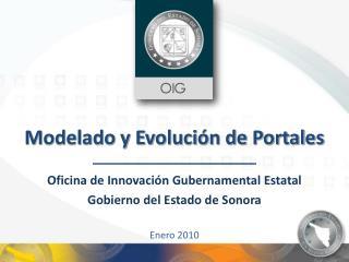 Modelado y Evolución de Portales
