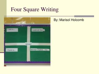 Four Square Writing