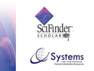 O que é o SciFinder?