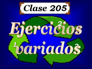 Clase  205