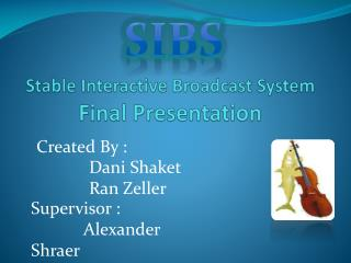 Stable Interactive Broadcast System Final Presentation