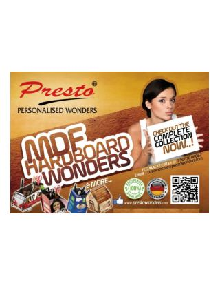 Presto MDF Hardboard Wonders