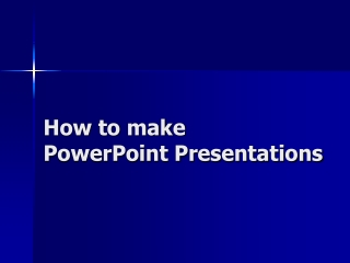 Powerpoint slides