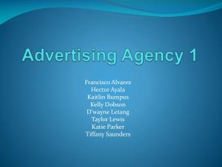 Advertising Agency 1