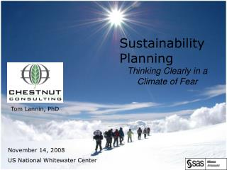 Sustainability Planning Thinking Clearly in a Climate of Fear