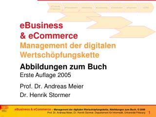 eBusiness  & eCommerce Management der digitalen Wertsch�pfungskette