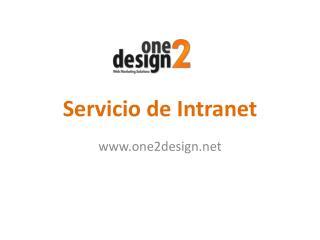 Servicio de Intranet