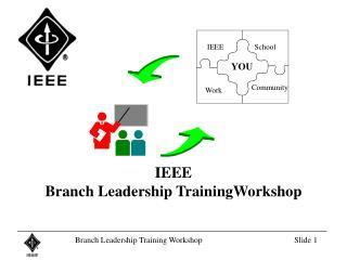 IEEE  Branch Leadership TrainingWorkshop