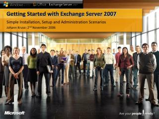 Getting Started with Exchange Server 2007