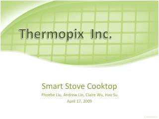 Smart Stove Cooktop