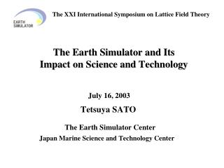 Earth Simulator Building