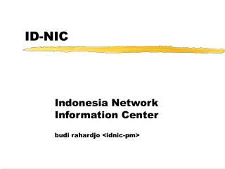 ID-NIC