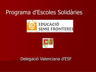 Delegació Valenciana d'ESF
