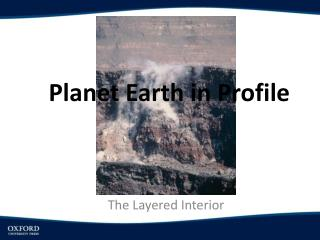 Planet Earth in Profile