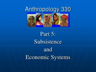 Anthropology 330