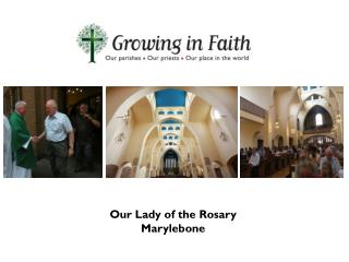 Our Lady of the Rosary Marylebone