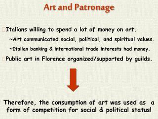 Art and Patronage