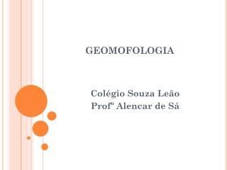 GEOMOFOLOGIA