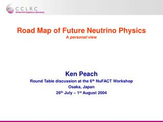 Road Map of Future Neutrino Physics A  personal  view