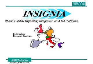IN  and B-ISDN  Sign alling  I ntegration on  A TM Platforms