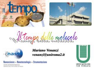 Mariano Venanzi venanzi@uniroma2.it