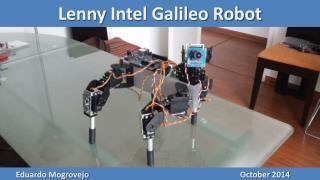 Lenny Intel Galileo  Robot