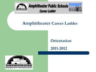 Amphitheater  Career Ladder