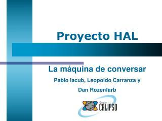 Proyecto HAL