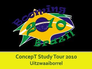 ConcepT Study Tour 2010  Uitzwaaiborrel