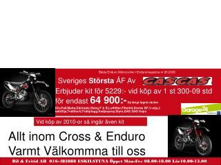 Bästa Enduro Motorcyckel i Enduromagazine nr 26 2009