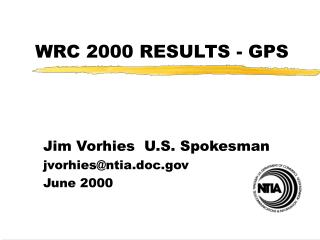 WRC 2000 RESULTS - GPS