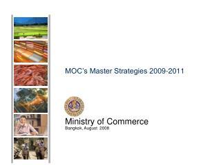 MOC's Master Strategies 2009-2011