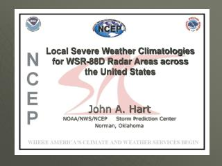 Local Severe Weather Climatologies for WSR-88D Radar Areas across the United States