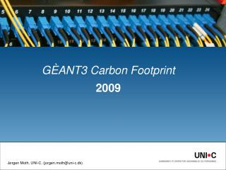 GÈANT3 Carbon Footprint 2009