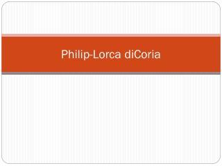 Philip-Lorca diCoria