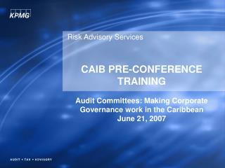 Risk Advisory Services