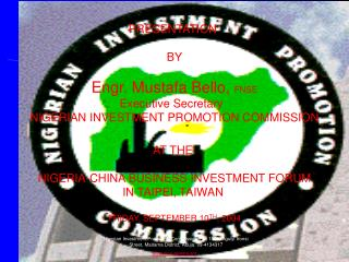INVESTMENT      PROSPECTS IN  NIGERIA
