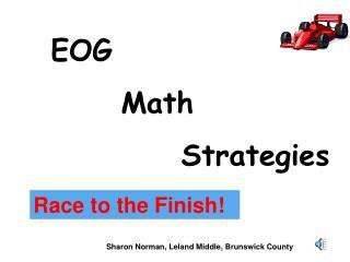 EOG        Math    Strategies