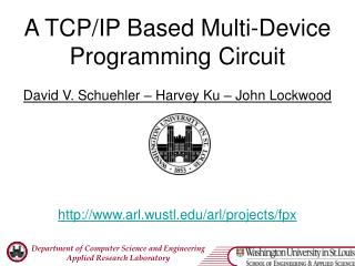 A TCP/IP Based Multi-Device Programming Circuit