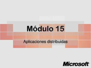 Módulo 15